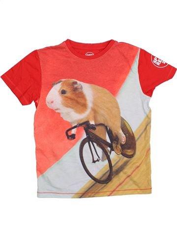 T-shirt manches courtes garçon SPORT RELIEF orange 10 ans été #1367809_1