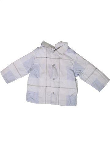 Camisa de manga larga niño BERLINGOT blanco 6 meses invierno #1367878_1