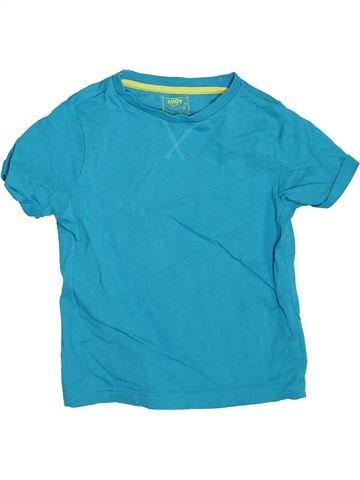T-shirt manches courtes garçon F&F bleu 5 ans été #1367929_1