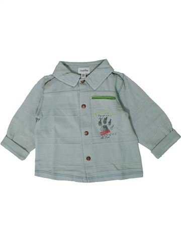 Camisa de manga larga niño MARÈSE gris 6 meses invierno #1368225_1