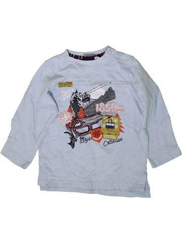 T-shirt manches longues garçon SERGENT MAJOR bleu 2 ans hiver #1368533_1