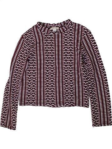T-shirt manches longues fille RIVER ISLAND marron 10 ans hiver #1368804_1