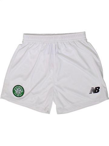 Short de sport garçon NEW BALANCE blanc 7 ans été #1368814_1