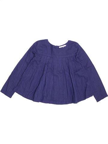 Blusa de manga larga niña MONOPRIX violeta 8 años invierno #1368948_1