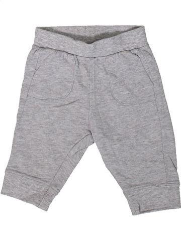 Pantalon garçon BLUEZOO gris 3 mois hiver #1369004_1