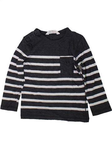 T-shirt manches longues garçon H&M blanc 2 ans hiver #1369290_1
