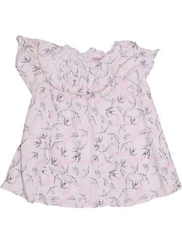 Blusa de manga corta niña TAPE À L'OEIL blanco 6 años verano #1369338_1