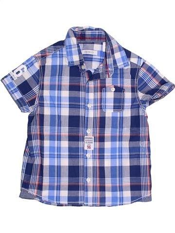 Chemise manches courtes garçon OKAIDI violet 3 ans été #1369351_1