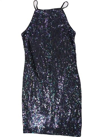Robe fille NEW LOOK noir 13 ans hiver #1369365_1