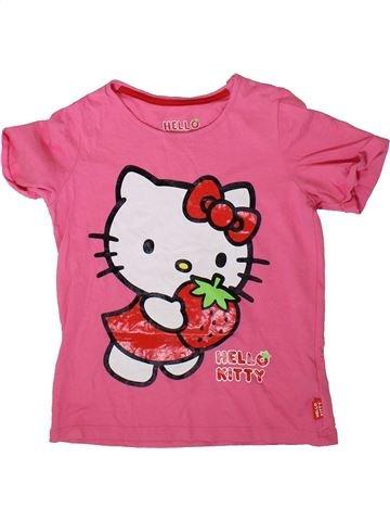 T-shirt manches courtes fille MARKS & SPENCER rose 6 ans été #1369637_1