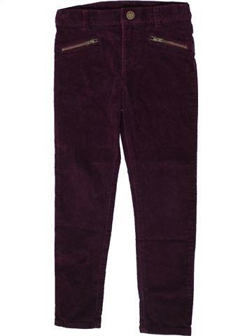Pantalon fille F&F marron 7 ans hiver #1369775_1