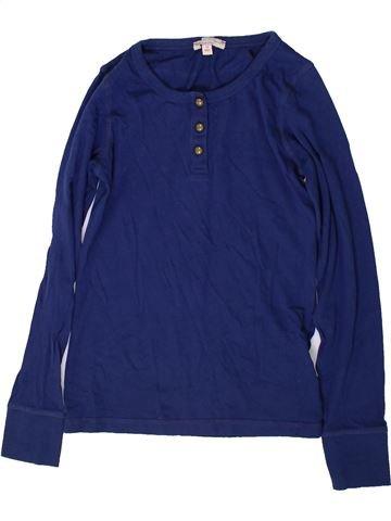 T-shirt manches longues fille MARKS & SPENCER bleu 11 ans hiver #1369979_1