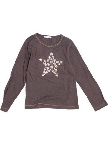 Camiseta de manga larga niña 3 POMMES gris 6 años invierno #1370057_1