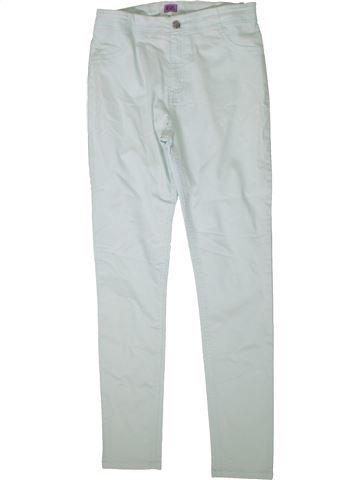 Pantalon fille F&F gris 14 ans été #1370070_1