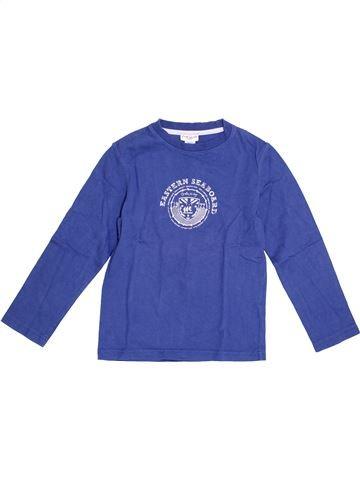 Camiseta de manga larga niño CYRILLUS azul 6 años invierno #1370080_1