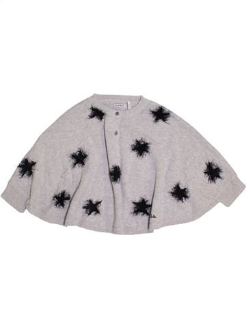 Pull fille IKKS gris 2 ans hiver #1370112_1