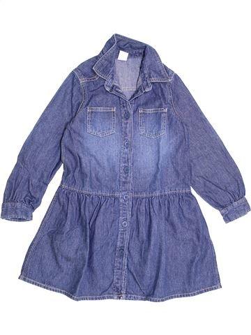 Vestido niña PETIT BATEAU azul 5 años invierno #1370235_1