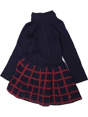 Robe fille PETIT BATEAU noir 4 ans hiver #1370420_1