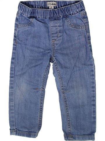 Pantalón niña KIMBALOO azul 2 años verano #1370473_1