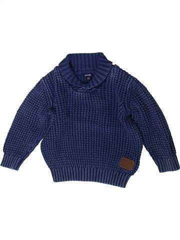 Pull garçon KIABI bleu 2 ans hiver #1370477_1