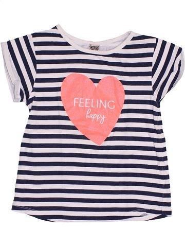 T-shirt manches courtes fille TAPE À L'OEIL rose 6 ans été #1370479_1