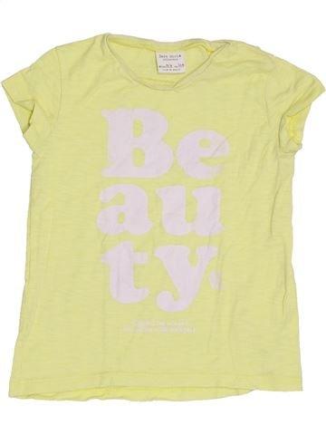 T-shirt manches courtes fille ZARA vert 4 ans été #1370485_1