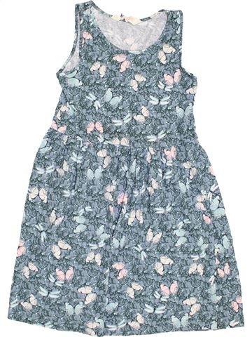 Robe fille H&M bleu 10 ans été #1370503_1