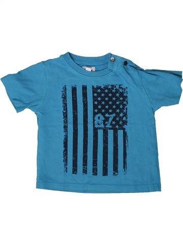 Camiseta de manga corta niño MARÈSE azul 9 meses verano #1370532_1