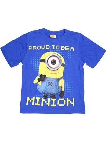 T-shirt manches courtes garçon LES MINIONS bleu 12 ans été #1370600_1