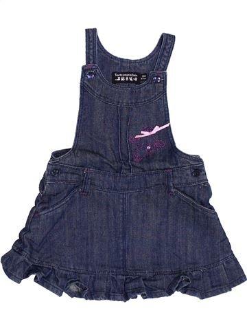 Vestido niña TOUT COMPTE FAIT azul 6 meses invierno #1370649_1