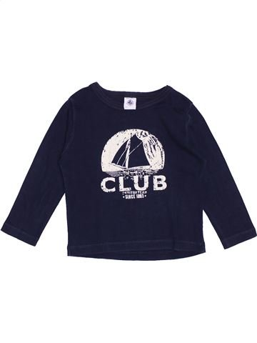 Camiseta de manga larga niño PETIT BATEAU azul 4 años invierno #1370674_1