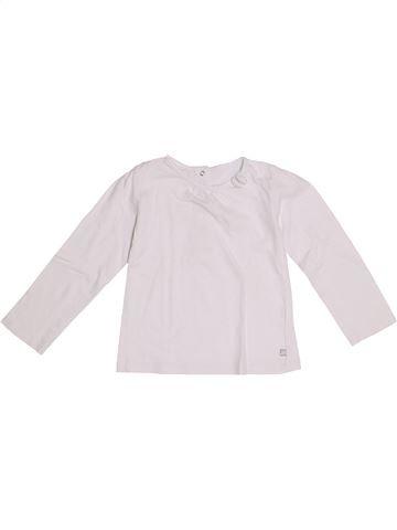 Camiseta de manga larga niña GEMO blanco 3 años invierno #1370902_1