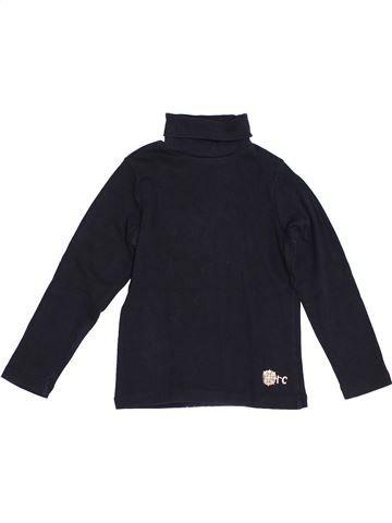 T-shirt col roulé fille ORCHESTRA bleu foncé 4 ans hiver #1370930_1