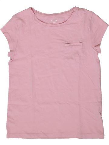 T-shirt manches courtes fille KIABI rose 8 ans été #1370949_1