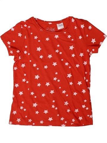 T-shirt manches courtes fille LA REDOUTE CRÉATION rouge 8 ans été #1370951_1