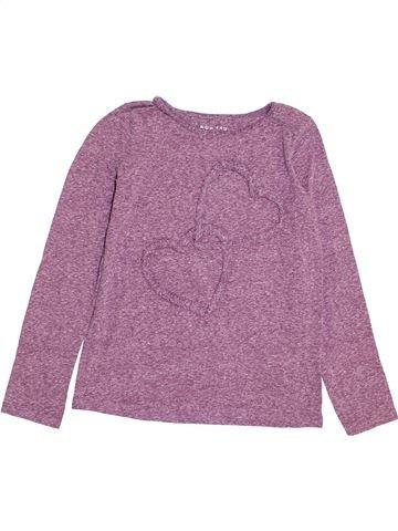 T-shirt manches longues fille NUTMEG violet 11 ans hiver #1370971_1