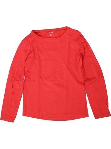 T-shirt manches longues fille KIABI orange 8 ans hiver #1370984_1