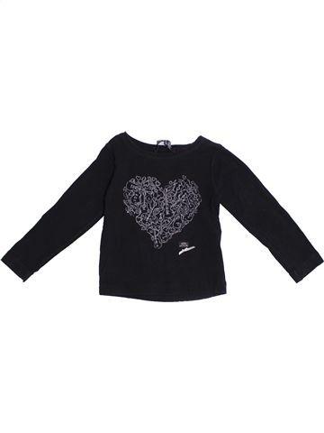 Camiseta de manga larga niña LILI GAUFRETTE negro 2 años invierno #1371130_1