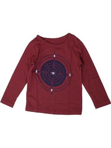 Camiseta de manga larga niño CFK marrón 4 años invierno #1371153_1