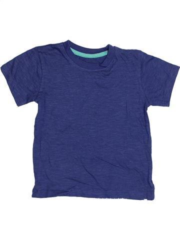 T-shirt manches courtes garçon DUNNES STORES bleu 3 ans été #1371174_1