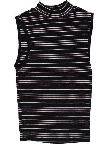 T-shirt sans manches fille NEW LOOK gris 11 ans été #1371344_1