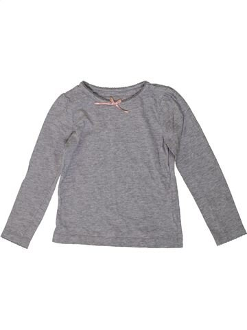 Camiseta de manga corta niña TU gris 3 años verano #1371351_1