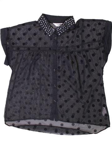 Blusa de manga corta niña TAMMY negro 13 años verano #1371684_1
