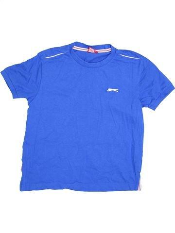 T-shirt manches courtes garçon SLAZENGER bleu 10 ans été #1371729_1