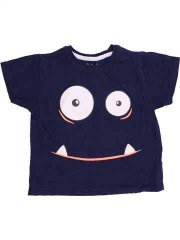 T-shirt manches courtes garçon PRIMARK bleu 2 ans été #1371764_1