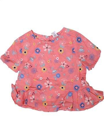 Blusa de manga corta niña SANS MARQUE rosa 12 años verano #1371969_1