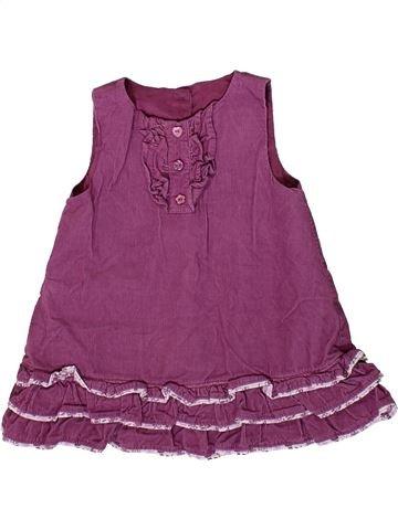 Robe fille DUNNES STORES violet 9 mois hiver #1372220_1