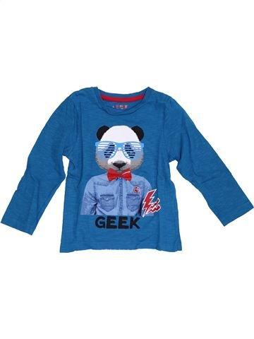 Camiseta de manga larga niño ORCHESTRA azul 4 años invierno #1372419_1