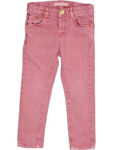 Pantalón niña ZARA rosa 3 años verano #1372442_1