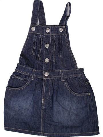 Vestido niña OKAIDI azul 2 años invierno #1372443_1